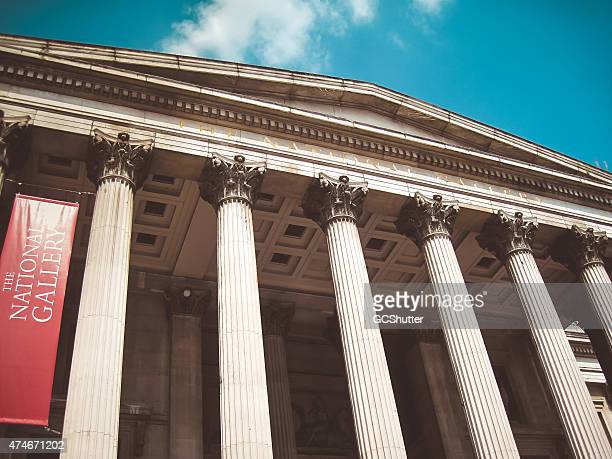 the national gallery, london - national gallery london stock pictures, royalty-free photos & images