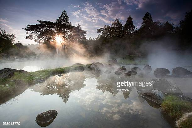 The national hot spring in Thailand