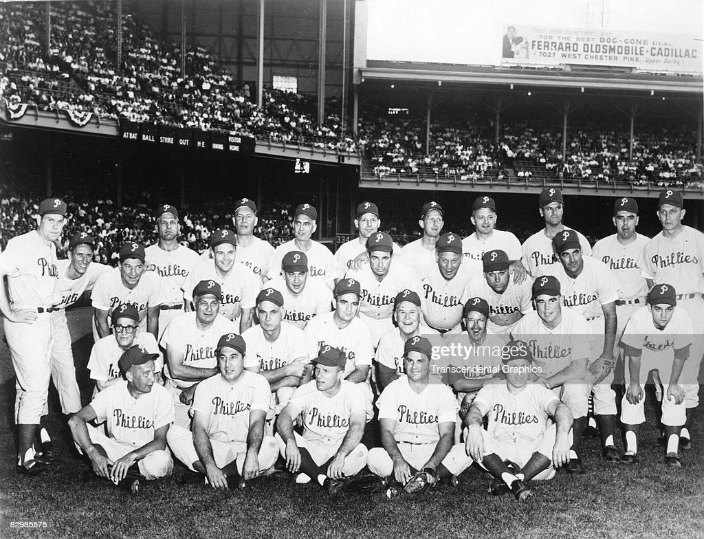 1950 Philadelphia Phillies : News Photo