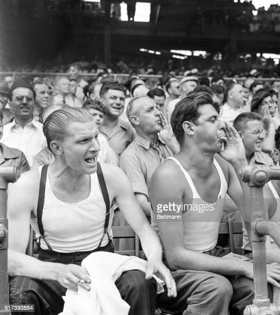 The National League-leading Cincinnati Reds had the bad taste to invade the sacred precincts of Ebbets Field yesterday and there hand the stalwart...
