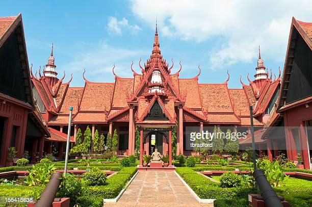Le Musée National de Phnom Penh, Cambodge