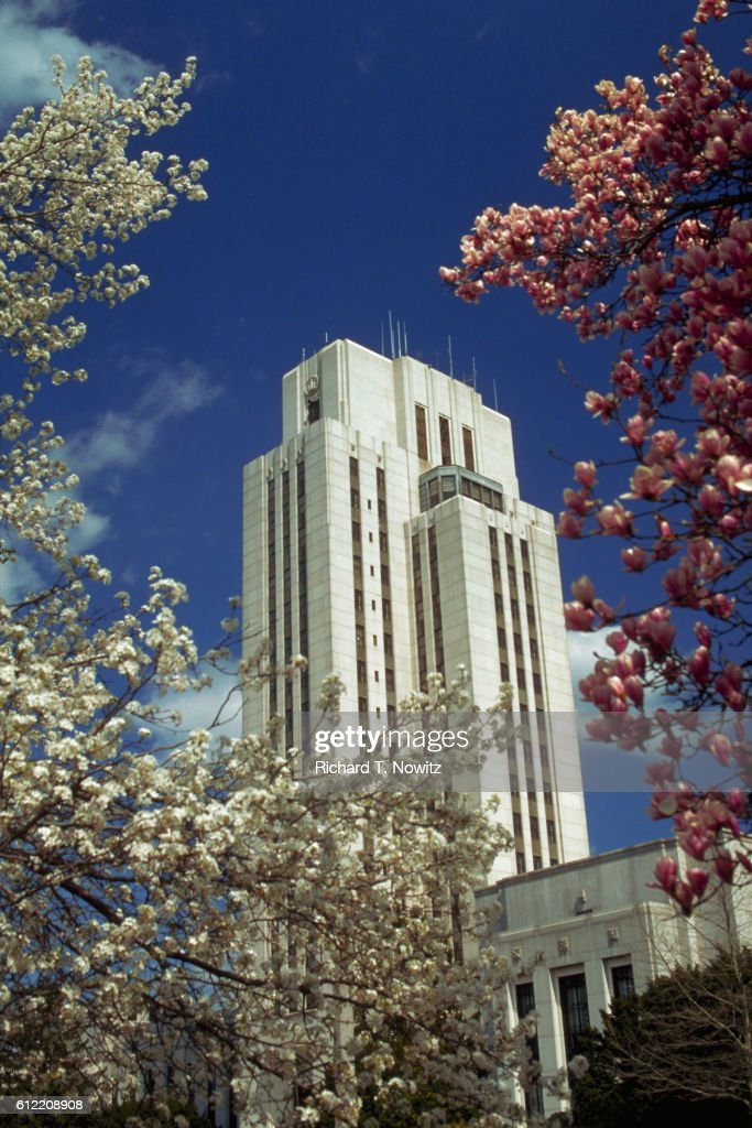The National Naval Medical Center In Bethesda Stock Photo