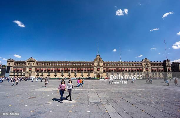 Il Palazzo nazionale a Città del Messico