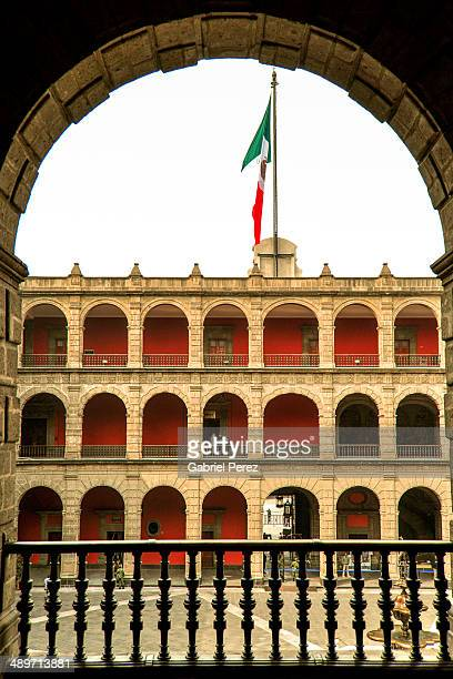 CONTENT] The National Palace located in the historic center of Mexico City