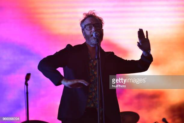 The National perform live at APE Presents at Victoria Park London on June 2 2018 The National is an American rock band consisting of Matt Berninger...