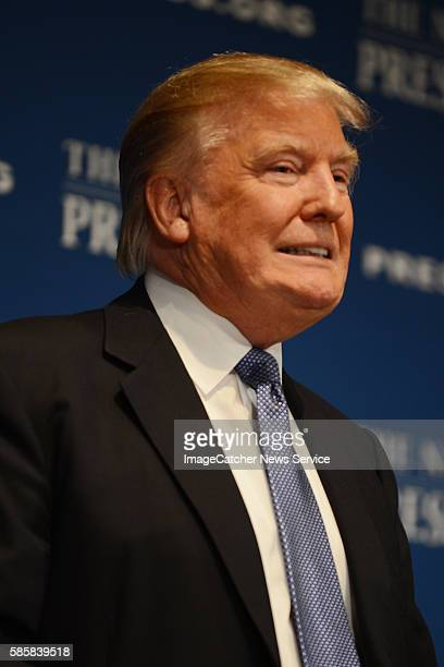 The National Press Club- Washington DC Billionaire Entrepreneur Donald Trump speaks with National Press Club Audience about branding and the future...