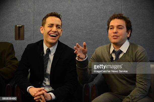 1/9/13 The National Press Club Washington DC The cast of the new NBC Show 1600 PA Ave speak to reporters at a private viewing followed by Q A Jon...