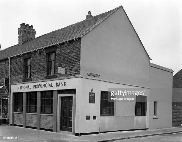 The National Provincial Bank Goldthorpe South Yorkshire 1960 The National Provincial Bank was formed in 1833 in an office in Threadneedle Street in...