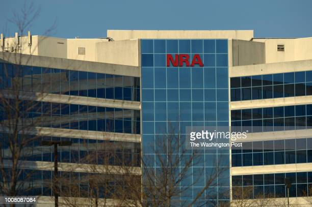 The National Rifle Association of America headquarters building is seen on Thursday January 10 2013 in Fairfax VA The building also contains the...