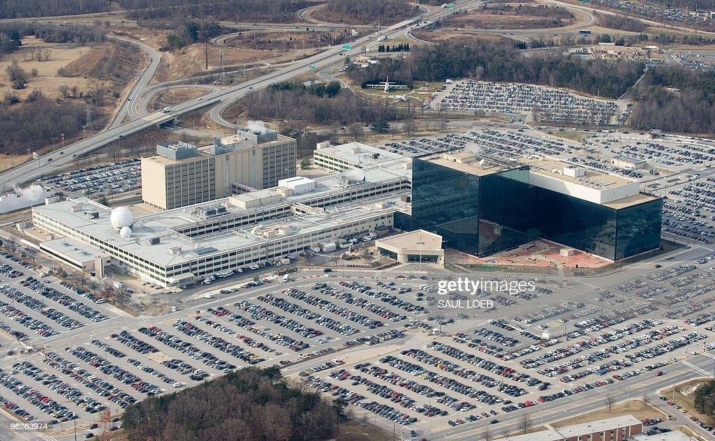 The National Security Agency (NSA) headq : News Photo