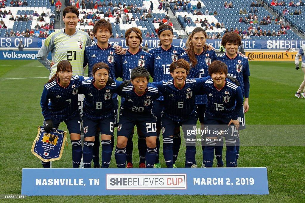 2019 SheBelieves Cup - Brazil v Japan : ニュース写真