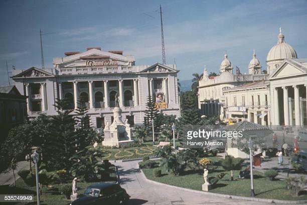 The National Theatre of El Salvador San Salvador El Salvador circa 1960