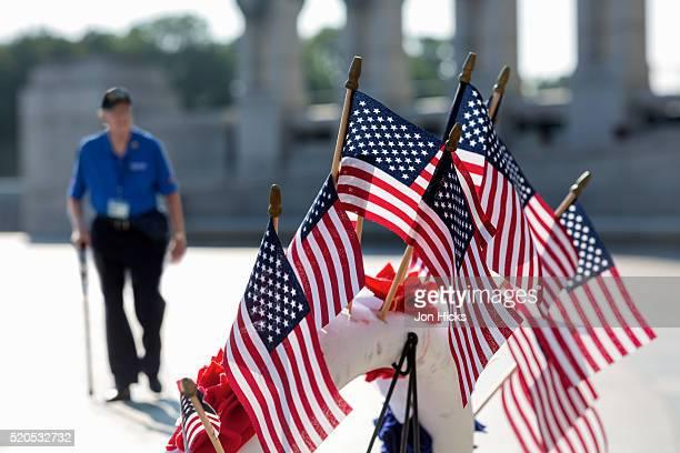 The National World War II Memorial in Washington, DC.
