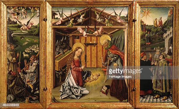 The Nativity 14671500 Found in the collection of the Museo Lázaro Galdiano Madrid