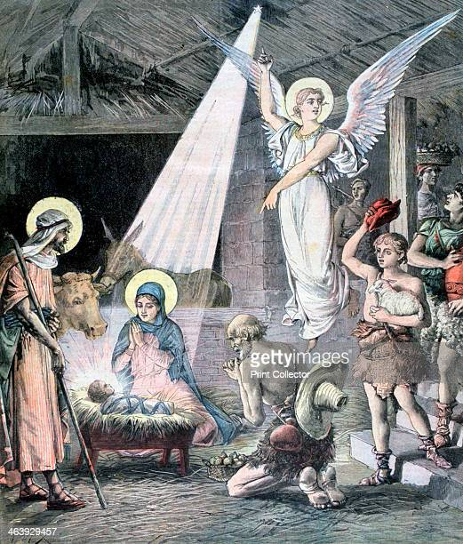 The Nativity 1892 A print from a supplement to the Le Petit Journal 24rd December 1892