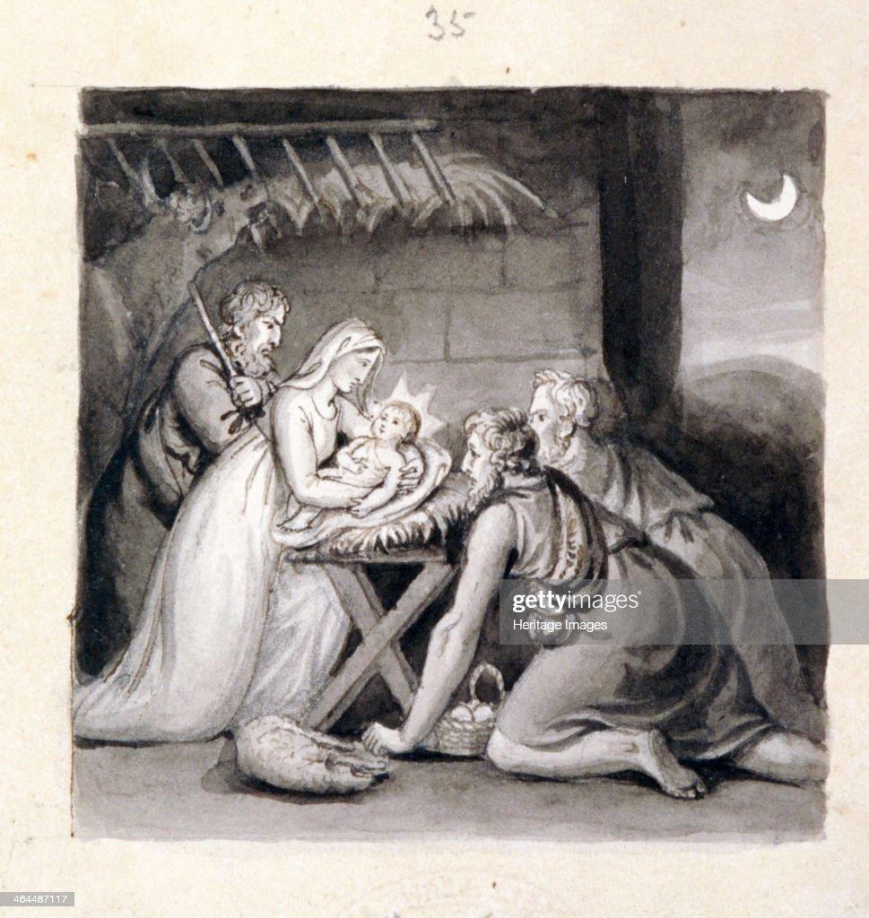 'The Nativity', 19th century. Artist: Henry Corbould : News Photo