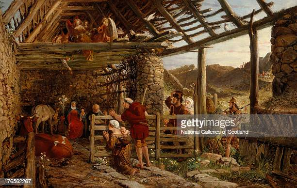 The Nativity by William Bell Scott 1872 Oil on canvas