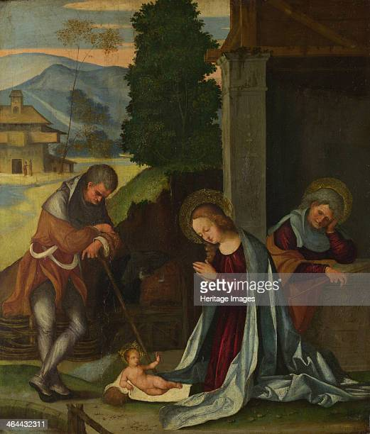 The Nativity c 1505 Found in the collection of the National Gallery London