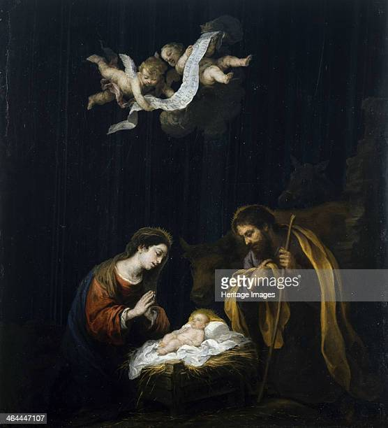The Nativity ca 1668 Found in the collection of the Museum of Fine Arts Houston