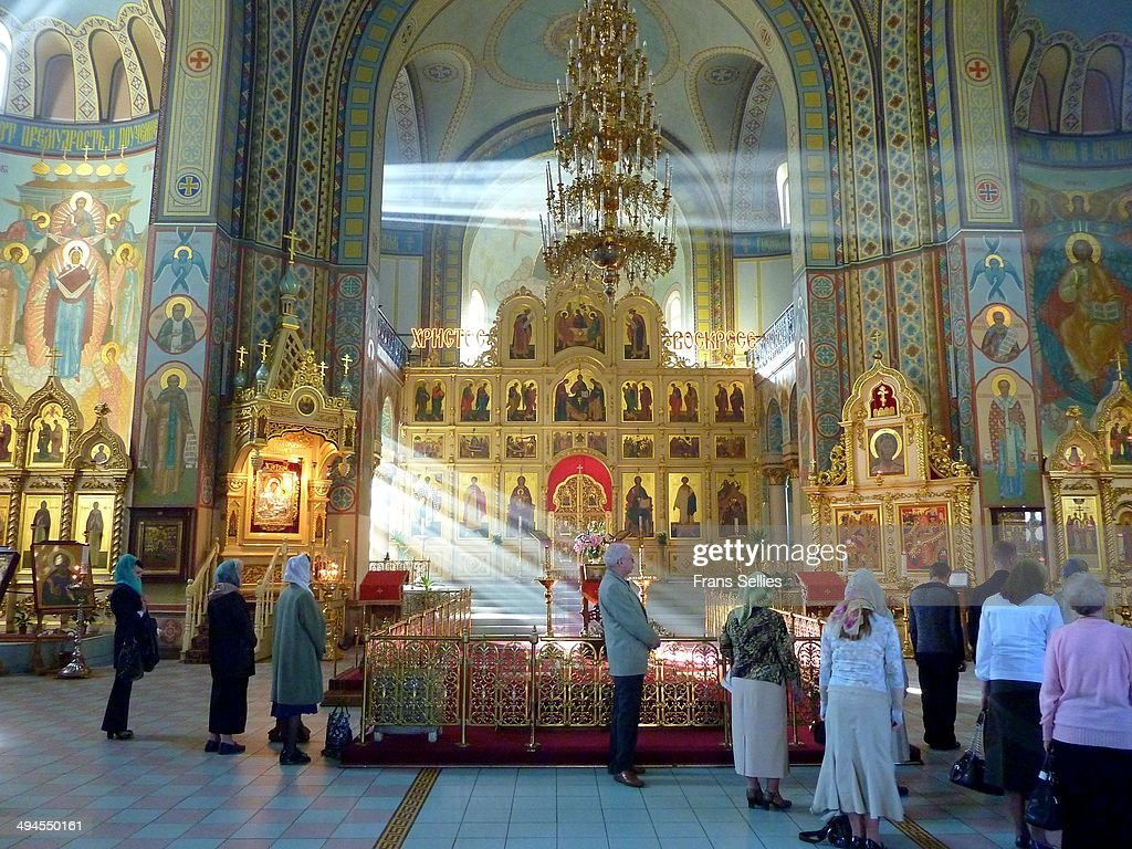 Russian Orthodox Nativity Cathedral : Nieuwsfoto's