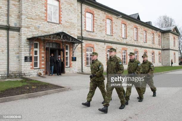 The NATO Cooperative Cyber Defence Centre of Excellence in Tallinn, Estonia, 14 April 2015. The institute conducts research and training on cyber...