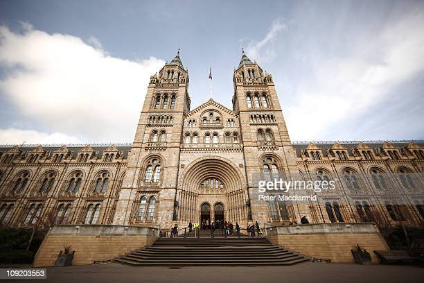 The Natural History Museum on 16 February 2011 in London