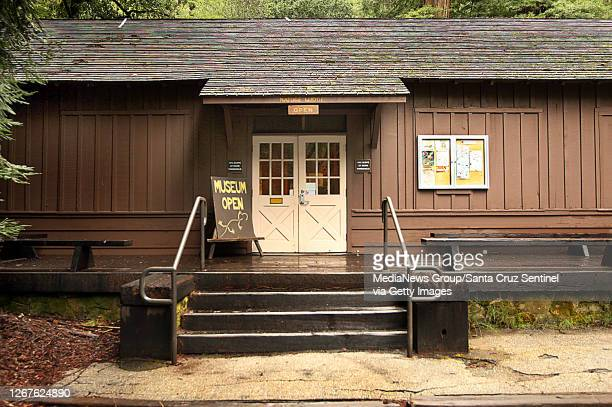 The Nature Lodge at Big Basin Redwoods State Park is photographed on April 18, 2017. It was constructed by Civilian Conservation Corps volunteers...