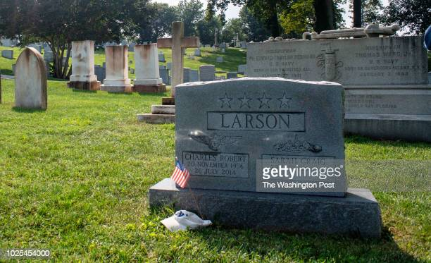 The Naval Academy Cemetery photographed in Annapolis Maryland on August 28 2018 The famous naval academy cemetery is where Senator John McCain is...