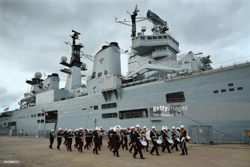 HMS Illustrious Decommissioning Ceremony : News Photo