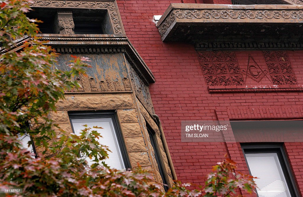 The Naval Lodge Building Masonic Symbols Pictures Getty Images