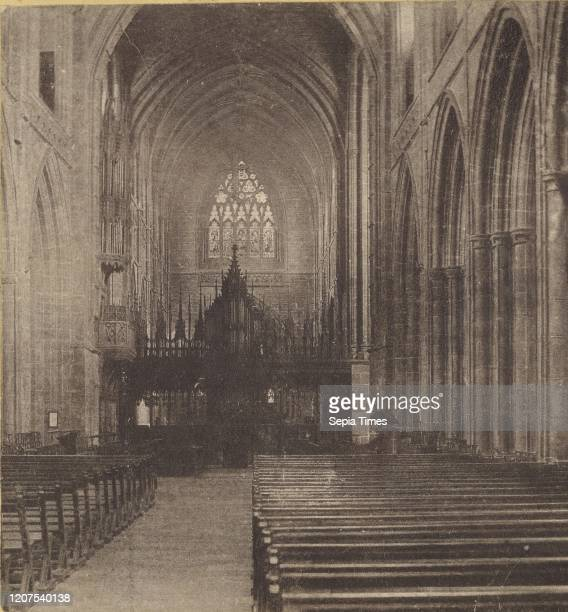The Nave Chester Cathedral Unknown maker British about 1865 Albumen silver print