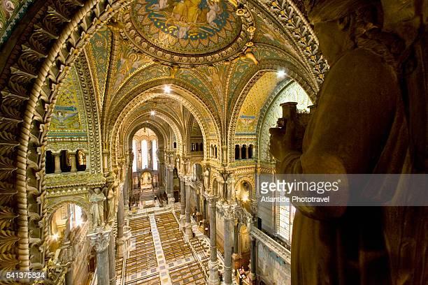 The Nave of Notre Dame de Fourviere