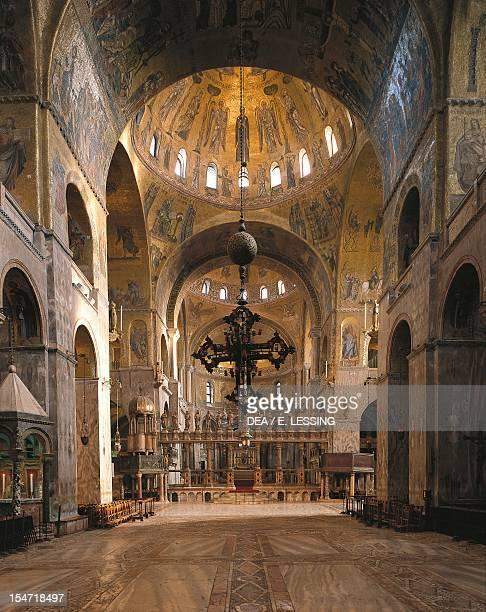 The nave St Mark's Basilica Venice Italy 11th15th century