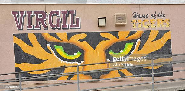 The NBA Cares AllStar Day of Service with City Year at Virgil Middle School on February 18 2011 in Los Angeles California