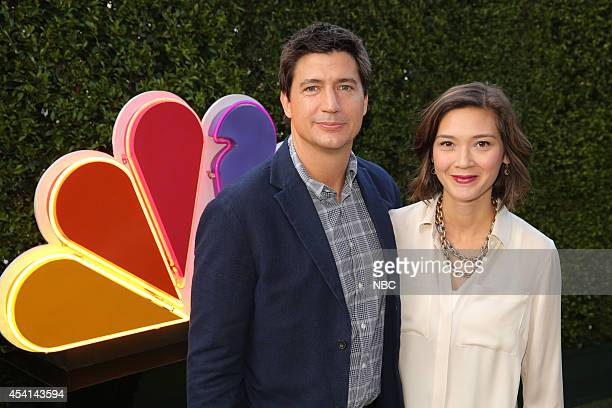 Ken Marino Marry Me Erica Oyama at Boa Steakhouse West Hollywood Calif August 24 2014