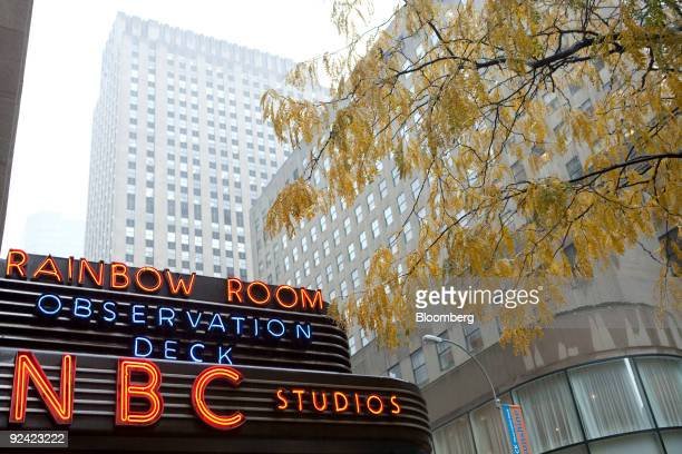 The NBC television network studios stand at 30 Rockefeller Plaza in New York US on Wednesday Oct 28 2009 NBC Universal may opt for an initial public...