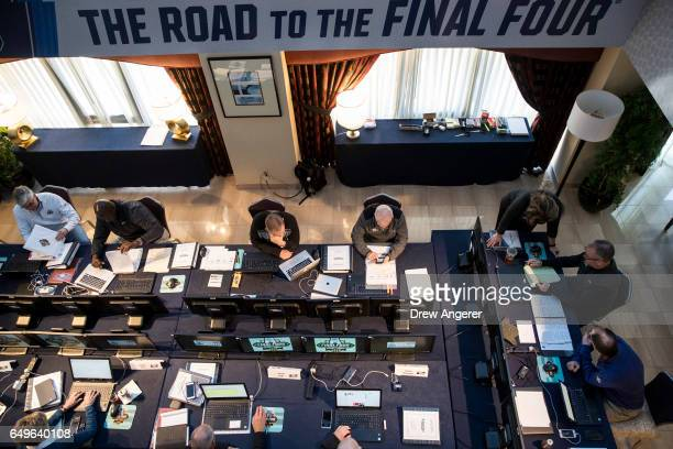 The NCAA Basketball Tournament Selection Committee meets on Wednesday afternoon March 8 2017 in New York City The committee is gathered in New York...