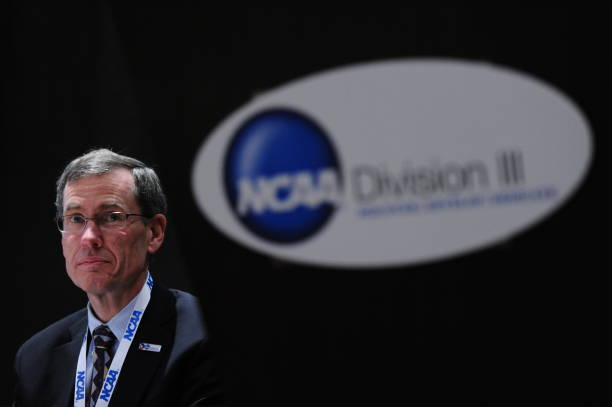 The NCAA Photos via Getty Images Division III Presidents and Chancellors Forum and Luncheon at the 2012 NCAA Photos via Getty Images Convention held...