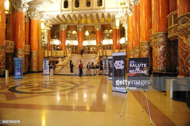 The NCAA Photos via Getty Images Salute Presentation and Reception held at the Fox Theatre and Comerica Baseball Park during the Division I Men's...