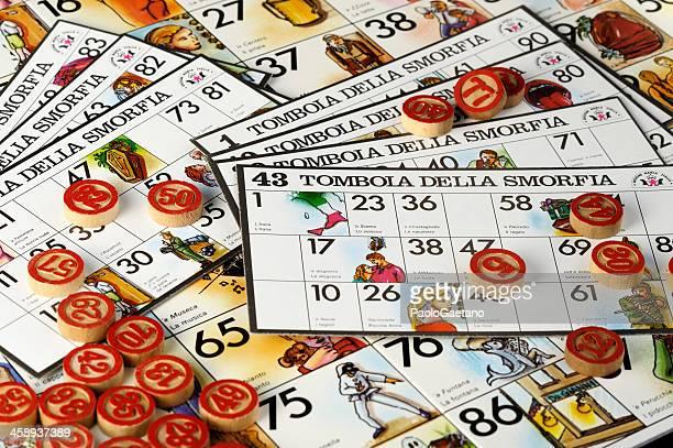 the neapolitan smorfia - raffle stock pictures, royalty-free photos & images