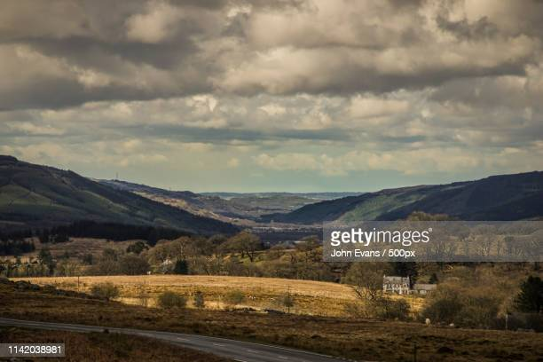 the neath valley, wales - mumbles stock photos and pictures