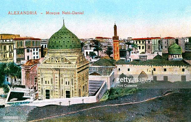 The Nebi-Daniel Mosque, Alexandria, Egypt, 20th century. Published by The Cairo Postcard Trust.