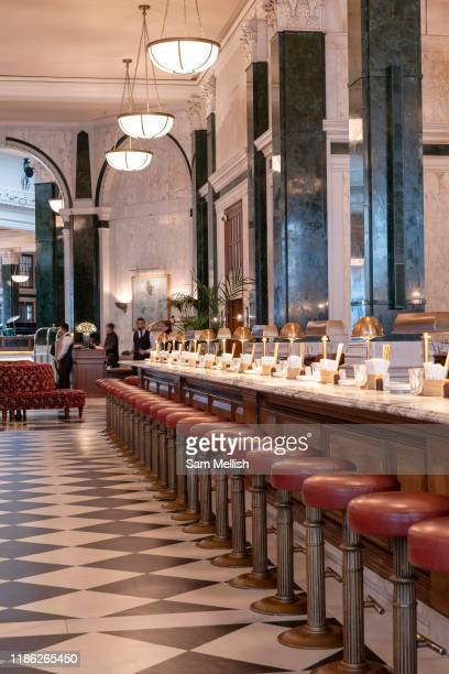 The Ned hotel on the 4th October 2019 in London in the United Kingdom The Ned is a luxury hotel and members club in the City of London The location...