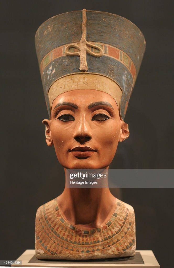 The Nefertiti Bust, ca 1350 BC. Artist: Ancient Egypt : News Photo