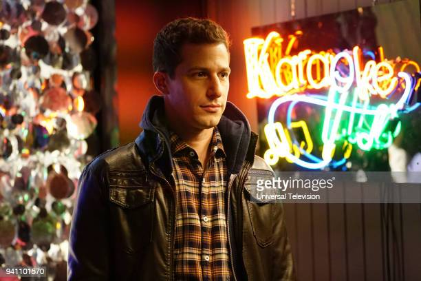 NINE 'The Negotiation' Episode 513 Pictured Andy Samberg as Jake Peralta