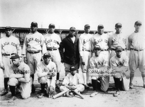 The Negro League Baltimore Black Sox pose for team portrait sometime during the 1925 season The stars of the team are Jud Wilson standing second from...