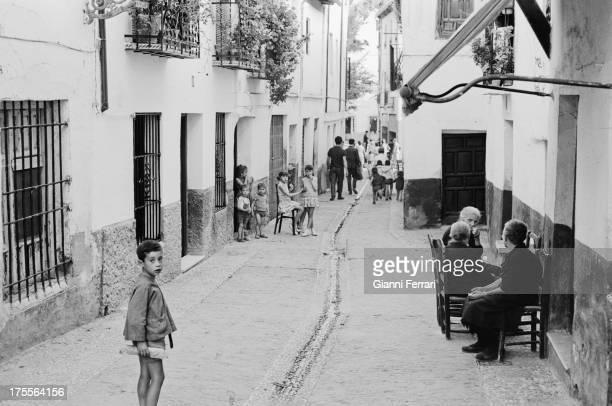 The neighborhood of Albaicin Granada Andalusia Spain Photo by Gianni Ferrari/Cover/Getty Images/