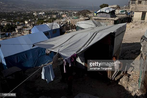 The neighborhood of Fort National was one of the hardest hit areas during the earthquake January 2011 in PortauPrince Haiti