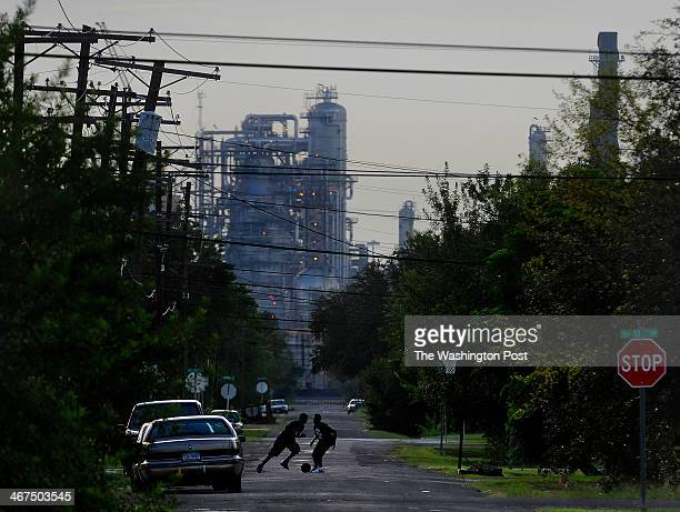The Neighborhoods around the downtown area of Port Arthur have the few views that don't include the oil facilities looming as a backdrop Port Arthur...