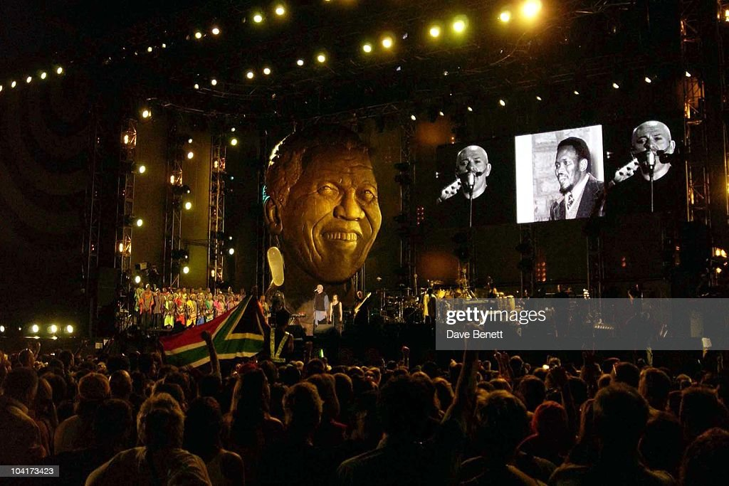 The Nelson Mandela Foundation's 46664 ' Give 1 Minute To Aids' Concert From The Greenpoint Stadium In Cape Town Africa